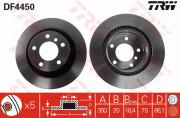 Тормозной диск TRW DF4450