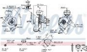 Турбина NISSENS 93043