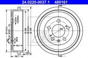 Тормозной барабан ATE 24.0220-0037.1