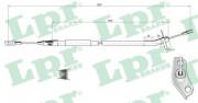 Трос стояночного (ручного) тормоза LPR C0446B