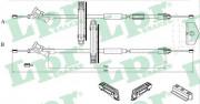 Трос стояночного (ручного) тормоза LPR C0225B