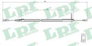 Трос стояночного (ручного) тормоза LPR C0407B