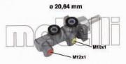 Головний гальмівний циліндр METELLI 05-0697