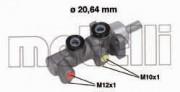 Головний гальмівний циліндр METELLI 05-0696