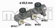 Главный тормозной цилиндр METELLI 05-0336