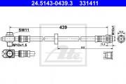 Тормозной шланг ATE 24.5143-0439.3