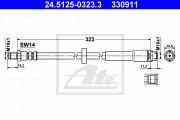 Тормозной шланг ATE 24.5125-0323.3