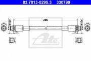 Тормозной шланг ATE 83.7813-0295.3