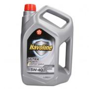Моторное масло Texaco Havoline Ultra 5W-40