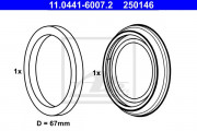 Ремкомплект супорта ATE 11.0441-6007.2