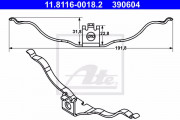 Монтажный комплект тормозных колодок ATE 11.8116-0018.2
