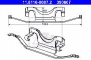 Монтажный комплект тормозных колодок ATE 11.8116-0087.2