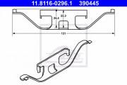 Монтажный комплект тормозных колодок ATE 11.8116-0296.1