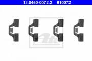 Монтажный комплект тормозных колодок ATE 13.0460-0072.2