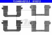 Монтажный комплект тормозных колодок ATE 13.0460-0212.2