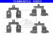 Монтажный комплект тормозных колодок ATE 13.0460-0213.2