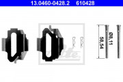 Монтажный комплект тормозных колодок ATE 13.0460-0428.2