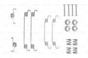Монтажный комплект тормозных колодок BOSCH 1987475295
