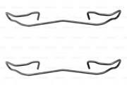 Монтажный комплект тормозных колодок BOSCH 1987474213
