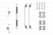 Монтажный комплект тормозных колодок BOSCH 1987475294