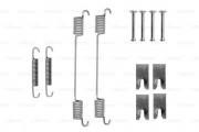 Монтажный комплект тормозных колодок BOSCH 1987475319