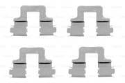 Монтажный комплект тормозных колодок BOSCH 1987474314