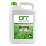 Антифриз QT Premium G11 Green -42 (зеленого цвета)