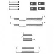 Монтажный комплект тормозных колодок DELPHI LY1355