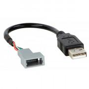 Адаптер для штатных USB-разъемов ACV 44-1180-006 для Kia Carnival, Sorento 2015+, Sportage 2016+