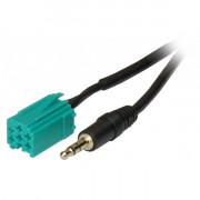 AUX кабель-адаптер AWM 100-20 для подключения аудиоисточников к штатной магнитоле Renault