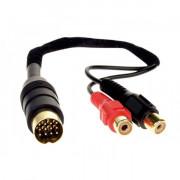 AUX кабель-адаптер AWM 100-07 для подключения аудиоисточников к магнитолам Kenwood