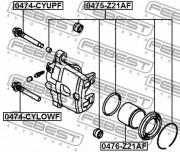 Ремкомплект суппорта FEBEST 0475-Z21AF