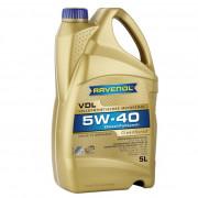 Моторное масло Ravenol VDL 5W-40