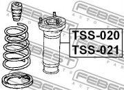 Опора амортизатора FEBEST TSS-020