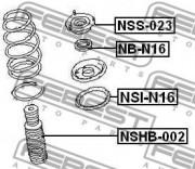 Опора амортизатора FEBEST NSS-023