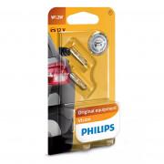 Комплект ламп накаливания Philips Vision 12516B2 (W1,2W)