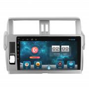 Штатная магнитола Sound Box SBM-8914 DSP для Toyota Land Cruiser Prado 150 (2014-2018) Android 10