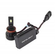 Светодиодная (LED) лампа Infolight S1 H11 6500K 10000Lm
