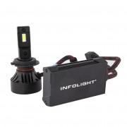 Светодиодная (LED) лампа Infolight S1 H7 6500K 10000Lm