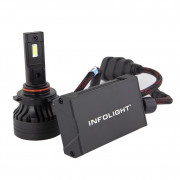 Светодиодная (LED) лампа Infolight S1 HB3 (9005) 6500K 10000Lm