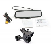Штатное зеркало заднего вида с монитором Phantom RMS-430-22 для Audi