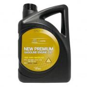 Оригинальное моторное масло Hyundai / KIA (Mobis) New Premium Gasoline Oil 0W-20 (0510000461)