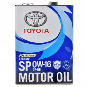 Оригинальное моторное масло Toyota Motor Oil SP 0W-16 (0888013105)