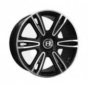 Диски Replica BN877 (для Bentley) черные полированные