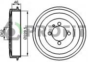 Тормозной барабан PROFIT 5020-0003