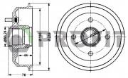 Тормозной барабан PROFIT 5020-0024