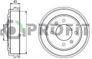 Тормозной барабан PROFIT 5020-0041