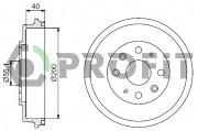 Тормозной барабан PROFIT 5020-0050