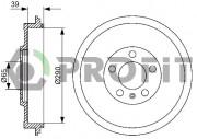 Тормозной барабан PROFIT 5020-0078