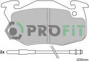 Тормозные колодки PROFIT 5000-0393